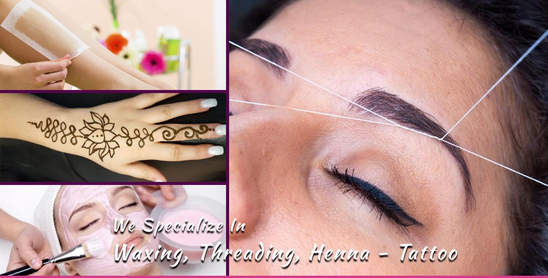 Kriti Eyebrows Threading Waxing Henna Tattoo Eyelash Extension